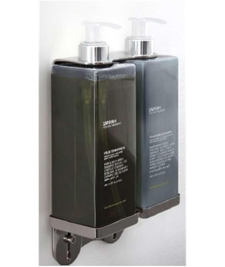 Dispenser 480ml Xampú+Acondicionador ANYAH