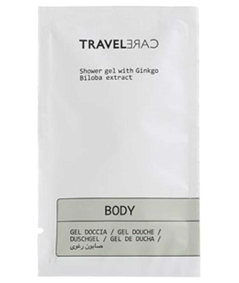 Sobre 10ml Gel de dutxa TRAVEL CARE
